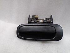 DK706314 1998-2002 TOYOTA COROLLA REAR LEFT SIDE EXTERIOR DOOR HANDLE BLACK OEM