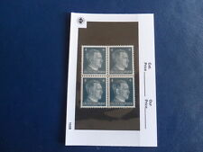Nazi Germany Third Reich Hitler Block of 4 Unused Stamps in Sleeve-4 Pfg -17-179
