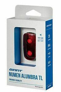 GENUINE GIANT NUMEN ALUMBRA TL HELMET LIGHT.USB CHARGE.20 LUMENS