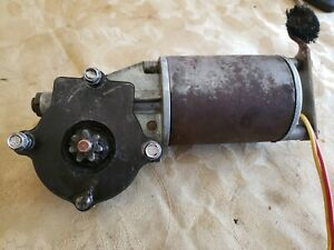 OEM VINTAGE 1972-1979 LINCOLN  MARK & CONTINENTAL DRIVERS WINDOW MOTOR 7  TEETH