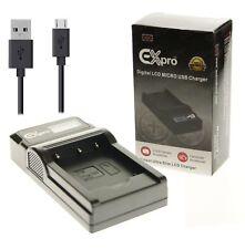 Micro USB LCD Batterie BCS-5 Chargeur pour Olympus PS-BLS5 Pen E-P3, E-PL2