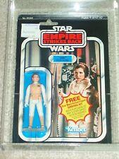 Vintage Star Wars 1980 AFA 80 PRINCESS LEIA HOTH RED HAIR ESB 41 BACK CARD MOC!!