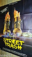 STREET TRASH   !  affiche cinema horreur gore