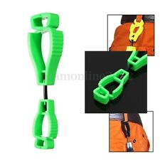 Plastic Clip Worker Gloves Guard Labor Work Clamp Safety Bracket AT-1 Type