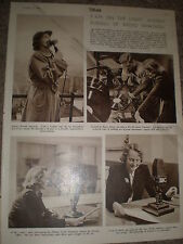 Photo article BBC radio journalist Audrey Russell 1949 ref K