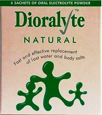Dioralyte Replacement Lost Body Water & Salts Natural Flavour - 6 Sachets