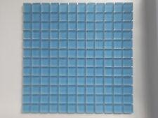 Mosaico in vetro satinato Azul matt. su rete foglio cm. 30x30 PREZZO A SCATOLA