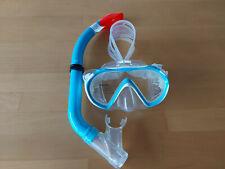 Neue Scubapro Kinder TauchermaskeSet mit Schnorchel und Tragenetz, Farbe Türkis