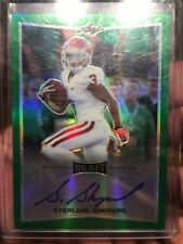 2016 LEAF DRAFT GREEN BA-SS1 STERLING SHEPARD RC AUTO 9/10