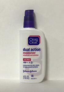 Clean & Clear Dual Action Moisturizer-Oil Free-4oz.