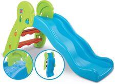 Kids Slippery Dip Qwikfold Fun Slide - Plus Water Fun - Backyard Play Equipment