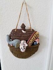NOAH'S ARK '3-D' PLAQUE ~~ FREE SHIPPING!!