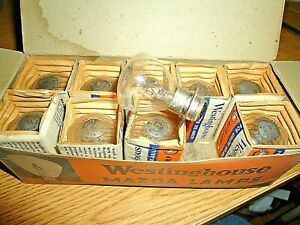 1934-1937 Buick Chevy Olds Pontiac Packard Ford Hudson Headlight Bulbs-NOS 2330