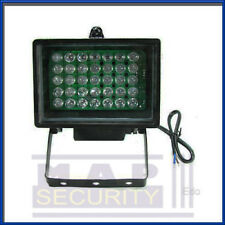 CCTV IR WIDE ANGLE ILLUMINATOR WITH X35 10MM LED & PSU - SAME DAY SHIPPING