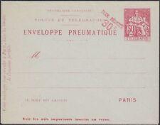 France, 1901. Pneumatique Enveloppe Carte H&g LB6, Excellent État
