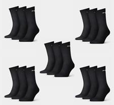 6 Paar PUMA Socken Strümpfe Sport 47-49 schwarz