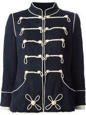 Chanel vintage style militaire Perle Brodé Veste FR 44 UK 14-16