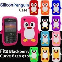 Blackberry Curve 8520 8530 9300 9330 Gel Silicone Keypad/penguin Case