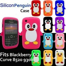 Blackberry Curve 8520 8530 9300 9330 Gel Silicone penguin Case