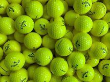 36 AAAAA++ Callaway Chrome Soft Yellow mint golf balls **FREE SHIPPING**