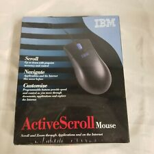 Vtg Retro NOS IBM Versatile Scroll Mouse 09N5511 *Sealed*