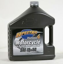 Spectro Platinum-4 100% Synthetic Motorcycle Engine Oil 15W50 4 Liters