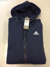 Adidas Originals Fleece Full-Zip Hoodie Mens Tracksuit Tops Jacket, Small