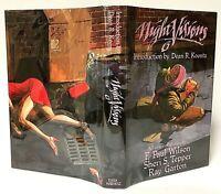 First Edition HC Signed NIGHT VISIONS 6 Wilson, Tepper, Garton Horror Hardcover