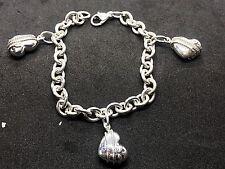 5ef59b7f6a52a Tiffany Co. Sterling Silver 8 8.49\ Fine Bracelets without Stones ...