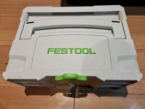 FESTOOL  SYSTAINER T-LOC CARRY CASE TOOL BOX Fantastic condition
