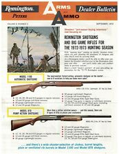 Sept 1972 Remington Arms and Ammo Dealer Newsletter