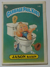 GARBAGE PAIL KIDS  STICKER JASON BASIN 14b 1985