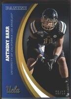Anthony Barr Black SSP Parallel /10~2015 Panini Collegiate UCLA #46 Vikings