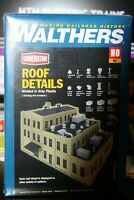 HO scale Walthers Cornerstone Rooftop details # 933-3733 kit New in box
