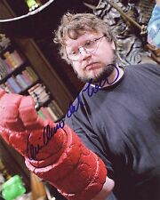 "GUILLERMO DEL TORO Authentic Hand-Signed ""HELLBOY Hand"" 8x10 Photo"