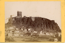 France, Puy-en-Velay, Château de Polignac Vintage albumin print Tirage alb