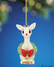 Lenox Rudolph's Christmas Spirit Ornament Retired Nib