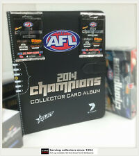 AFL TRADING CARD OFFICIAL ALBUM--2014 Select AFL Champions Trading Card Album