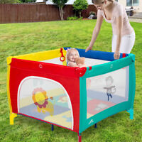 Portable Baby Playpen Playard Mattress Safety Baby Play Pen Yard for Boys Girls