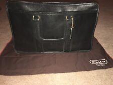 2b67ccea7abf Coach Embassy Leather Briefcase Attaché Brass Talon Zipper