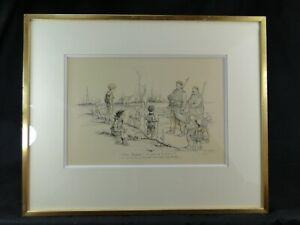 POULBOT Francisque (1879-1946) Enfants de la Grande Guerre Gravure originale 2/2