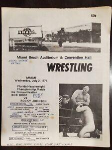 WWF WWE NWA WRESTLING PROGRAM