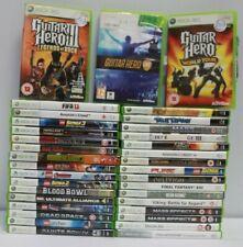 Bundle XBOX  360 Games 35 in Total GUITAR HERO BORDELANDS ASSASSINS CREED  - 206