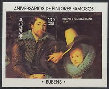 Nicaragua 1978 ** bl.103 tableaux paintings rubens [sr1836]
