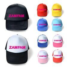 ZAMFAM Rebecca Zamolo Kids School Baseball Cap Youtuber Adjustable Snapback Hats