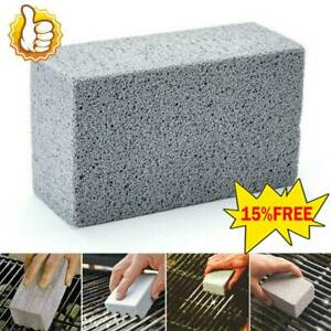 BBQ Scraper Pumice Grill Cleaner Cleaning Brick Stone Block Barbecue Griddle Kit