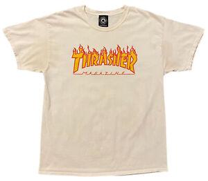 Vintage Thrasher Skatebord Magazine T Shirt Adult Size L