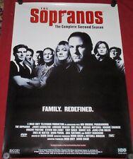 The Sopranos Television Poster 27x39 S/S James Gandalfini Lorraine Bracco Falco