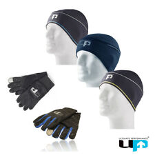 Ultimate Performance Unisex Running Hat Gloves Sports Cycling Warmwear Beanie