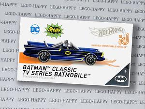 Hot Wheels id 2021  TV Classic Batmobile - Blue - Batman - id Series 2
